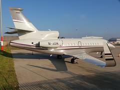 M-AGIK (IndiaEcho) Tags: magik dassault falcon 900 london luton international airport airfield eggw ltn civil aircraft aeroplane aviation bedfordshire england business jet biz bizjet