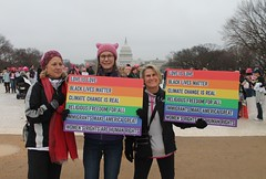 106a.Enroute.WomensMarch.WDC.21January2017 (Elvert Barnes) Tags: 2017 january2017 2017presidentialinauguration 58thpresidentialinauguration2017 21january2017 58thpresidentoftheunitedstatesinauguration2017 womensmarch womensmarch2017 saturday21january2017womensmarch beforethemarch beforethesaturday21january2017womensmarch beforethemarch2017 j21womensmarch2017 streetphotography streetphotography2017 streetphotographybeforej21womensmarch2017 enroutetoj21womensmarch2017rally protestsigns protestsigns2017 protestsignsj21womensmarch2017 washingtondc