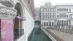 city of dreams (lens ·) Tags: 澳門 macau macao sar venetian thevenetian casino smoking trompeloeil replica kotaistrip kotai