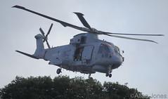 Merlin Helicopter (Allan Jones Photographer) Tags: merlinhelicopter helicopter chopper choppa blades rotarblade royalnavy hmsqueenelizabeth flying flyingmachine allanjonesphotographer canon5div fleetairarm