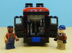 New A-Team Van Weapons Rack (Hobbestimus) Tags: lego moc 80s toys ateam howlingmad murdock
