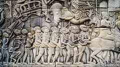 Sculpture à Angkor Thom (Lцdо\/іс) Tags: angkor thom siemreap sculpture architecture archeological park cambodge cambodia kambodscha elephant historic history asia asian asie travel rock lцdоіс