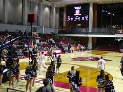 Second Half Ball (dougmartin571) Tags: roanokecollege lynchburghornets roanokemaroons maroonsathletics basketball americasgottalent agt zuzuacrobats maroonathletics roanokecollegeathletics