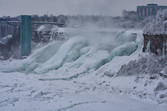 Winter Wonder 1 -The Wonder Of Niagara 1 (remiklitsch) Tags: winterwonderseries series niagarafalls polarvortex nikon remiklitsch march 2015 nature falls winter snow ice frozen colorofwinter americanfalls panorama panoramic
