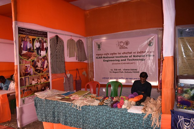 District Krishi Mela and Technology Week Celebration organized by Sasya Shyamala KVK, Ramakrishna Mission Vivekananda Educational and Research Institute (RKMVERI) in the KVK premises at Arapanch, Sonarpur during 14 to 16 February, 2019. Hon'ble MP of Joyn