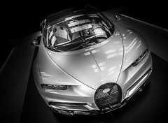 CHIRON (Dave GRR) Tags: bugatti chiron supercar luxurycar hypercar speed racing motorsport toronto auto show 2018 monochrome black white photography automotive olympus