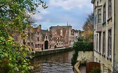 Bruges (Jurek.P2 - new account) Tags: hdr bruges brugia belgia belgium canal kanał architecture water europe europa city cityscape jurekp2 sonya500