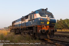 190115_06 (The Alco Safaris) Tags: alco dlw indian railways broad gauge passenger train wdm3d 11121 erode ed