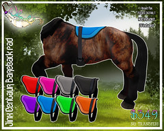 Jinx Centaur - Bareback Pad (Sodap0pp) Tags: jinx centaur second life secondlife avatar fantasy bareback equine horse hooves hoof saddle
