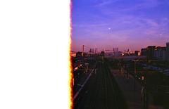 img001 (louieblondet) Tags: color pushed film photography analog grain lofi home developed 35 mm minolta x700 kodak ultramax 400 sunset