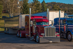 Peterbilt 389 (NoVa Truck & Transport Photos) Tags: peterbilt 389 dump truck classic big rig 18 wheeler 2017 large car mag southern ta lexington va