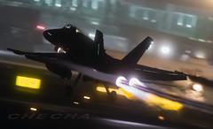 Fuego! (joseramongonzalez544(Checha)) Tags: f18 nocturna ala15 lest nikon d850 avion plane pnning action ejercito del aire spain spanish air force aviation 500mm nikkor condensacion