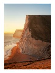 Bat's Head Glow (Rich Walker Photography) Tags: dorset coast coastline coastal beach cliffs cliff canon england efs1585mmisusm eos eos80d landscape landscapes landscapephotography sunset evening