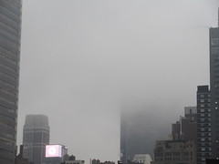 2019 February Monday Fog - President's Day 2012 (Brechtbug) Tags: 2019 february monday fog virtual clock tower from hells kitchen clinton near times square broadway nyc 02182019 new york city midtown manhattan winter weather building breezy cloud hell s nemo southern view