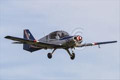Scottish Aviation Bulldog 120-122 - 05 (NickJ 1972) Tags: shuttleworth collection oldwarden race day airshow 2018 aviation scottish bulldog gbcus 121 120122