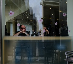 Eating Flowers (Bury Gardener) Tags: burystedmunds britain suffolk streetphotography street streetcandids snaps strangers candid candids people peoplewatching folks fujixt3 fuji mirrorlesscameras 2019 arc thearc