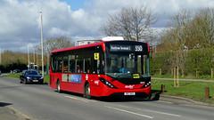 Passing The Landmark (londonbusexplorer) Tags: abellio west london adl enviro 200 mmc 8895 sn17msx 350 hayes asda heathrow terminal 5 tfl buses