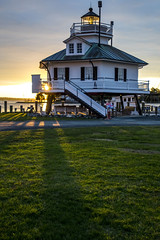 Good Morning Sunshine (Chesapeake Bay Maritime Museum Photos) Tags: miles river sunrise 1879 hooper strait lighthouse chesapeakebaymaritimemuseum maritime museum chesapeake bay