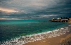 Lido Bruno (armandocapochiani) Tags: litoranea lidobruno salento salentina sabbia mare sea seascapes capochiani closeup clouds landscape dramatic