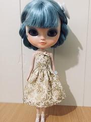 Blythe Dress ❤️ #blythe (Maiasnook) Tags: blythe blytheclothes blythedoll tubedress dolly blythegown