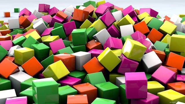 Обои кубики, 3d, art картинки на рабочий стол, фото скачать бесплатно