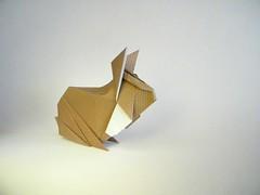Rabbit - Lee Armstrong (Rui.Roda) Tags: origami papiroflexia papierfalten lapin conejo coelho rabbit lee armstrong