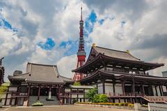 東京鐵塔|Tokyo Tower (里卡豆) Tags: 日本 jp olympus panasonicleicadg818mmf2840 asia panasonic leica dg 818mm f2840 penf japan tokyo 東京 東京鐵塔