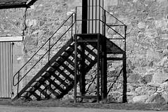 lines and shadows (Jackal1) Tags: steps barn blackwhite lines bw monotone monochrome shadows