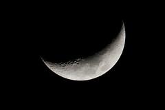 Waxing Crescent Moon (25%) (Roger Gerbig) Tags: moon luna rogergerbig televue85 2xpowermate telescope refractor tv85 televue