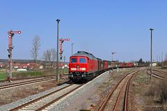 233 232-8 DB Cargo (Zugbild) Tags: bahn rail railroad railway dbag thüringen diesellok train br232 br132 ludmilla güterzug db cargo grosrusse triptis