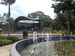 Taman indonesia kaya means park (herue017) Tags: taman indonesia park garden public tree building outdoor semarang asia landscape panorama fountain fountains water green sky trees drink java air mancur airmancur city day daytime cloud background sunny tropical