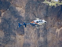 Air Rescue Training At Picacho Peak (Chic Bee) Tags: picachopeakstatepark canonpowershotsx70hs picachopeak airrescue helicopter spotter sky neartucson arizona america usa