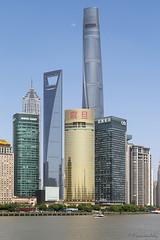 Shanghai (françoisjoly85) Tags: pentaxart chine shanghai pudong jinmaotower shanghaitower shanghaiworldfinancialcenter