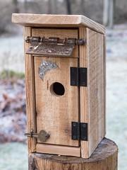 PC160010 (bvriesem) Tags: bird house birdhouse craft wood carpentry