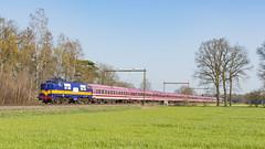 RXP 1251 met trein 13496 bestaande uit Euro-expressrijtuigen. (twenterail) Tags: railexpert rxp 1251 trein spoorwegen train zug eisenbahn