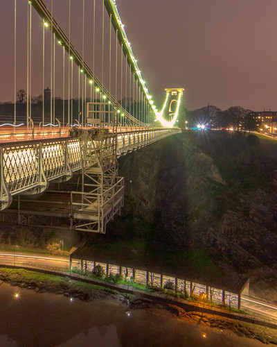 Clifton Suspension Bridge and The Portway