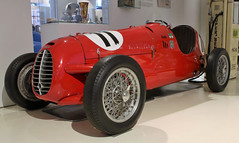 D46 (Schwanzus_Longus) Tags: museum prototyp hamburg german germany italy italian old classic vintage car vehicle race racing motorsport monoposto cisitalia d46 automuseum