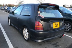 (Sam Tait) Tags: toyota starlet small car retro rare 3 door hatchback black glanza turbo hot hatch 1300 13 135bhp