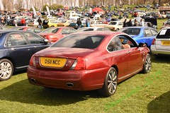 Could've been Coupe (ekawrecker) Tags: mg zt car rover 75 bmw e96 roof