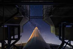 Ground Control 🚀 #spaceoddity (leKorbo.be) Tags: powerplant irix night photography lookup uga