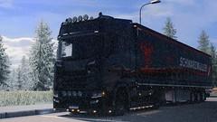 Scania - Black Gun (black_moloko) Tags: scania siawego austria trip travel ets2 eurotrucksimulator2 nextgeneration winter
