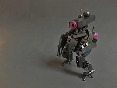 Bezoid-1 (Legomania.) Tags: bezoid1 bezoid lego moc mocs mocer legomoc legomocs scifi scifimech scifimoc legoscifi legomech mecha mech legomecha black space spacejam clickit clickits alien drone legodrone droneuary xenomorph