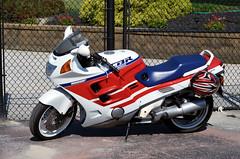 "2017-07-30 (2) crotch rocket at Laurel Park (JLeeFleenor) Tags: photos photography md maryland marylandracing marylandhorseracing equine laurelpark laurelracecourse motorcycle bike ""αυτοκίνητο ποδήλατο"" μοτοσυκλέτα 摩托车 机车 摩托車 機車 ""دراجة نارية"" نارية صغيرة"" بموتور"" motocicleta мотоцикл motosiklet motocicletta motocyclette moto motorrad ""オートバイ"" אופנוע honda red white blue outside outdoors o"
