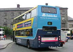 Dublin Bus AV385 (04D20385). (Fred Dean Jnr) Tags: dublinbusyellowbluelivery busathacliath dublinbus rend dublin volvo b7tl alexander alx400 av385 04d20385 collegestreetdublin june2005 dublinbusroute15