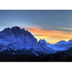 Dolo Myth (Robyn Hooz) Tags: alba sunrise cielo sky cime sigh quadro paint brush dolomia veneto
