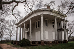 Nolan House (Rodney Harvey) Tags: abandoned plantation house antebellum georgia architecture south rural decay country backroads grand columns porch fancy nolan