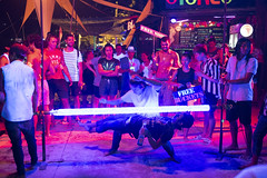 Bars on Phi Phi beach (Duong RKUDO) Tags: nightlife bar beach crowd asia asian travel tourist excite entertainment game dance phiphi island streetlife summer vacation holiday