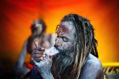 Marijuana - Naga Sadhu - Allahabad (Rajkumar Pandian) Tags: cwc701 chennaiweekendclickers chennaiweenendclickers