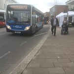 Stagecoach in Exeter ADL Enviro 200 36256 WA11 CHV working route S thumbnail