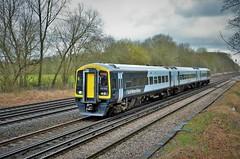 159001 (stavioni) Tags: brel class159 express sprinter dmu diesel multiple unit swr swt south western railway west trains rail train transport